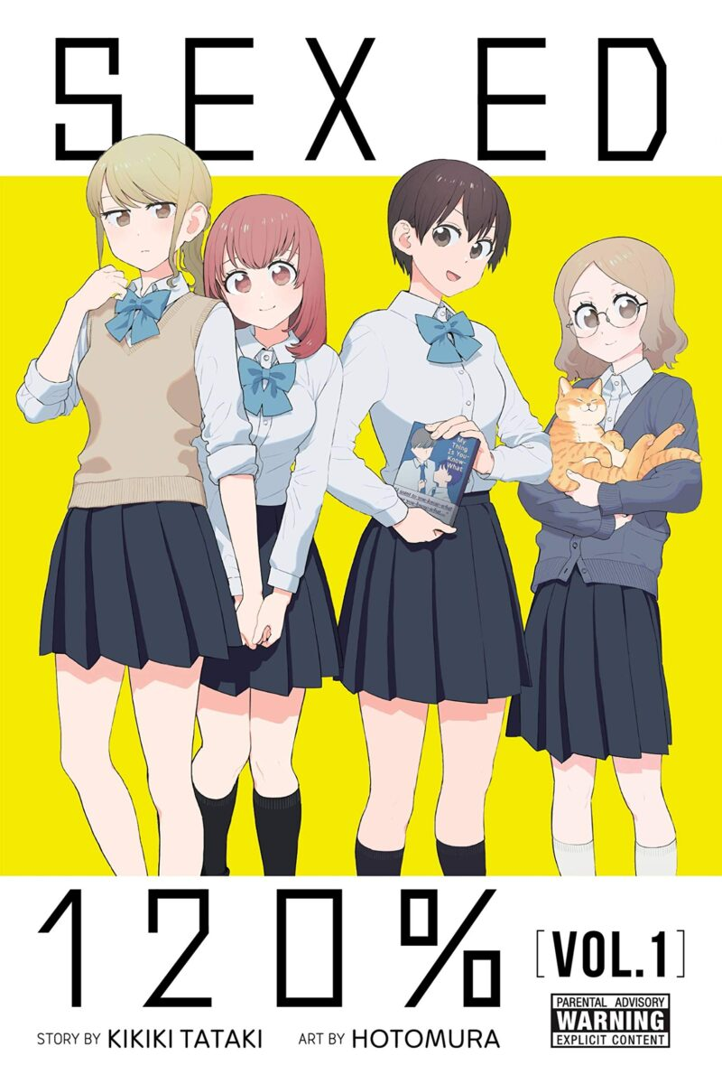 Sex Ed 120 volume one cover