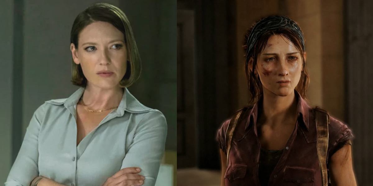 Anna Torv is Tess in the Last of Us