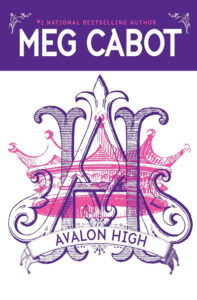 """""""Avalon High"""" by Meg Cabot. Crest with an intertwined """"H"""" and """"A."""""""