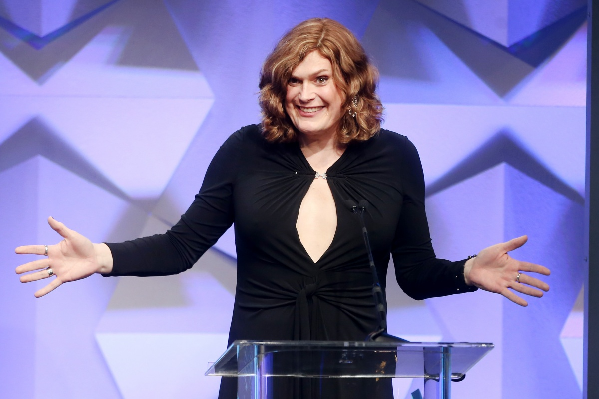 BEVERLY HILLS, CALIFORNIA - APRIL 02: Producer / Director Lilly Wachowski accepts award for Outstanding Drama Series onstage during the 27th Annual GLAAD Media Awards at the Beverly Hilton Hotel on April 2, 2016 in Beverly Hills, California. (Photo by Frederick M. Brown/Getty Images)