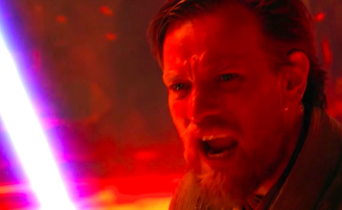 Obi-Wan telling Anakin that Chancellor Palpatine is evil in Star Wars: Episode III – Revenge of the Sith.