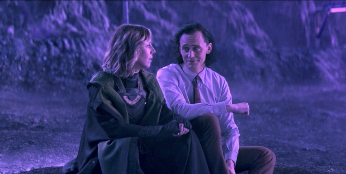 Loki and Sylvie sit down and discuss Lamentis.