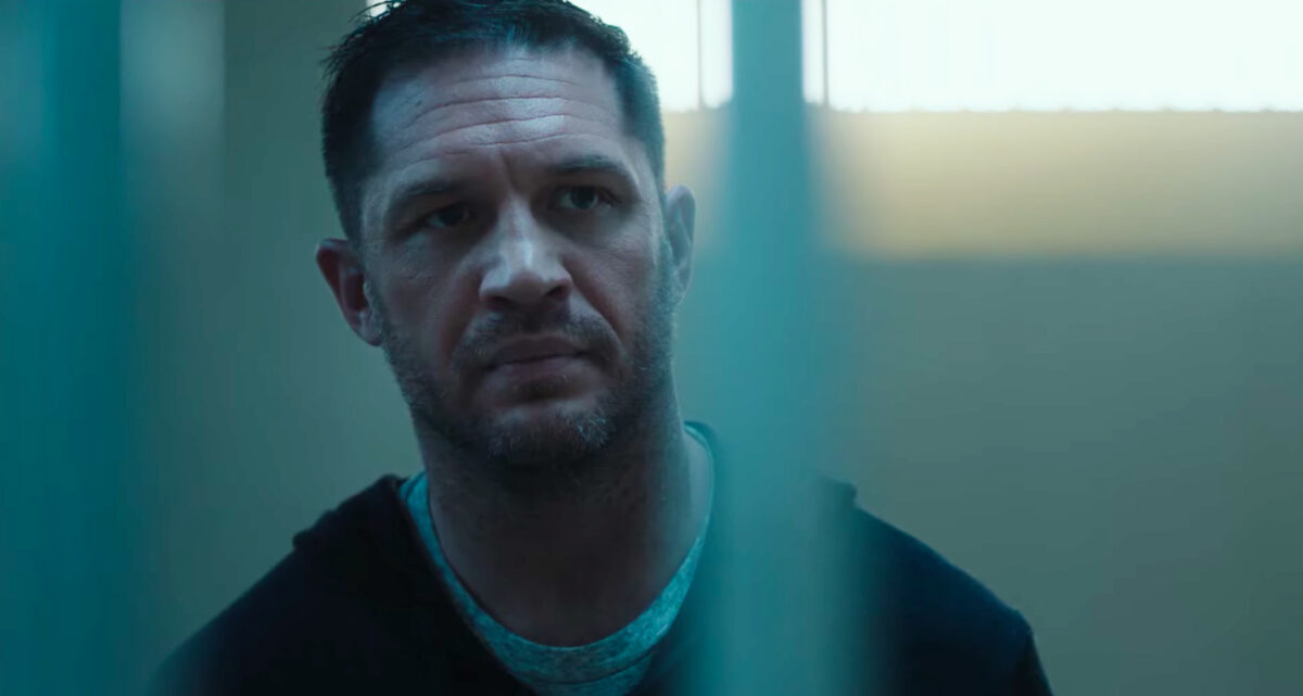 Tom Hardy in the let There Be Carnage Trailer
