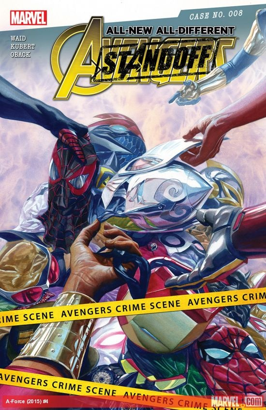 All-New All-Different Avengers #8 Standoff