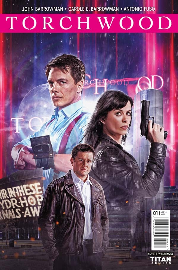Torchwood #1 Cover B
