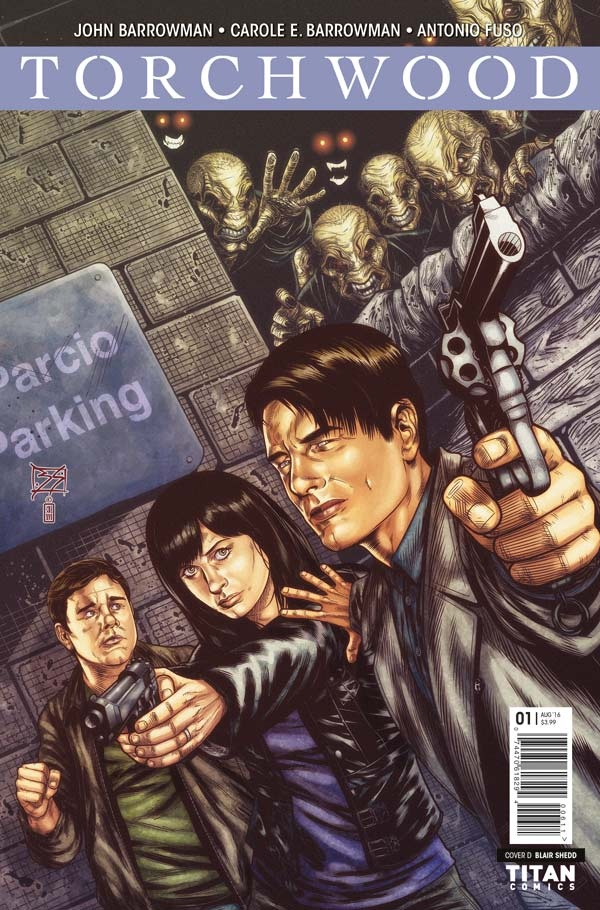 Torchwood #1 Cover D