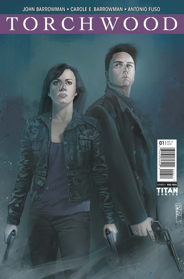 Torchwood #1 Cover E