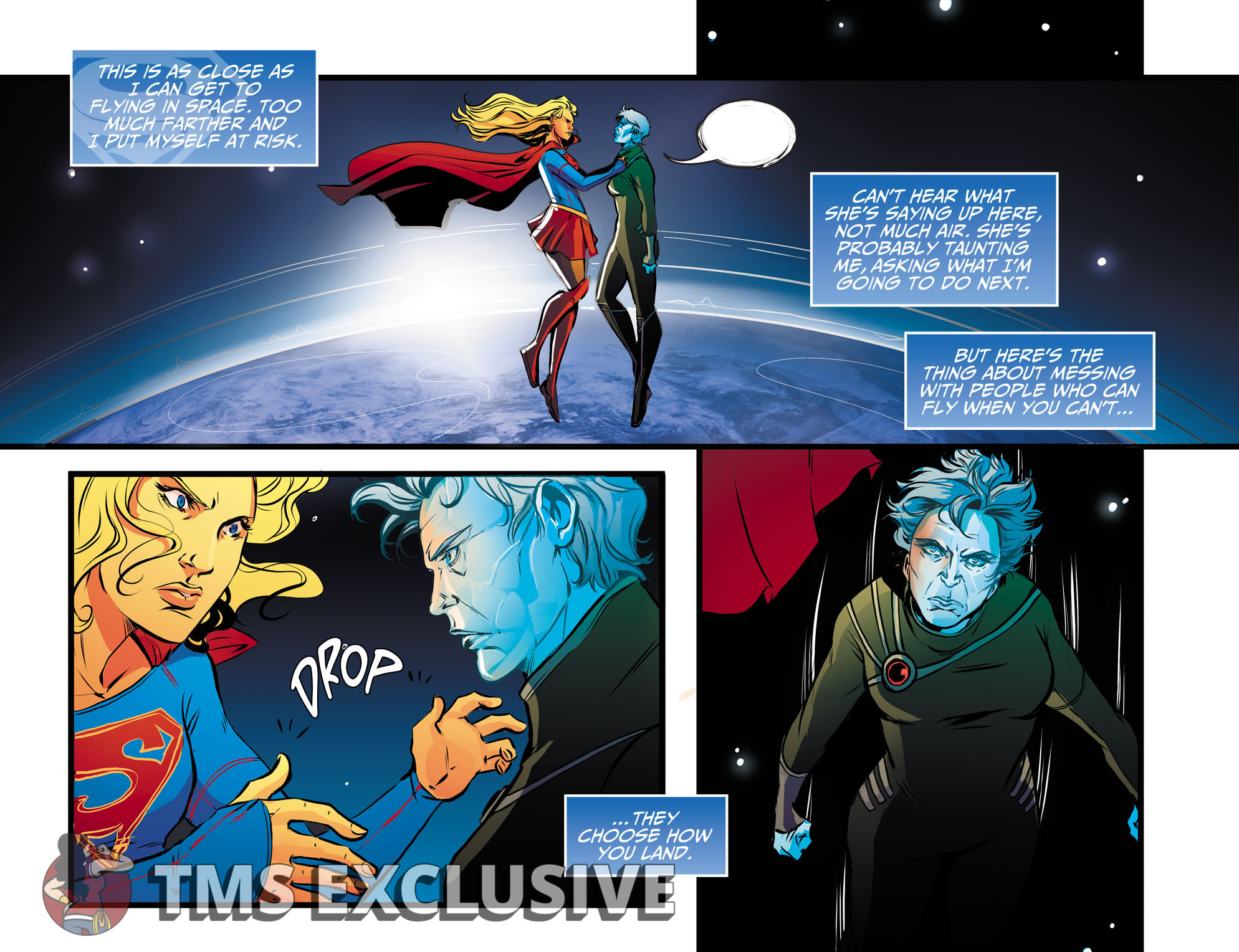 Adventures of Supergirl Ch. 13 Preview 1