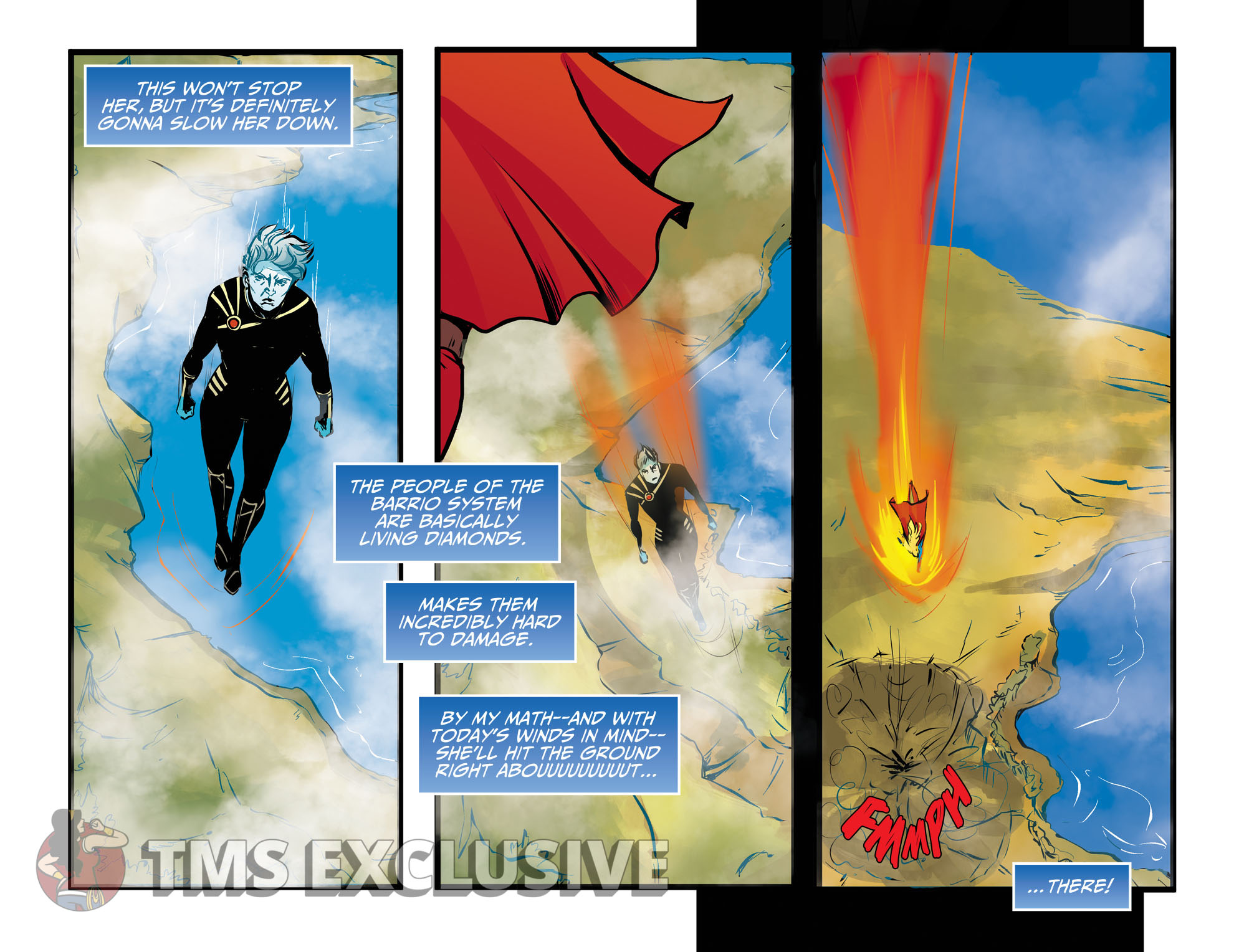 Adventures of Supergirl Ch. 13 Preview 2