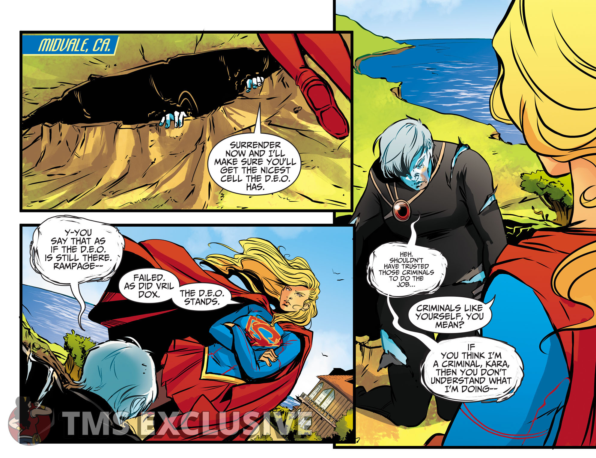 Adventures of Supergirl Ch. 13 Preview 3