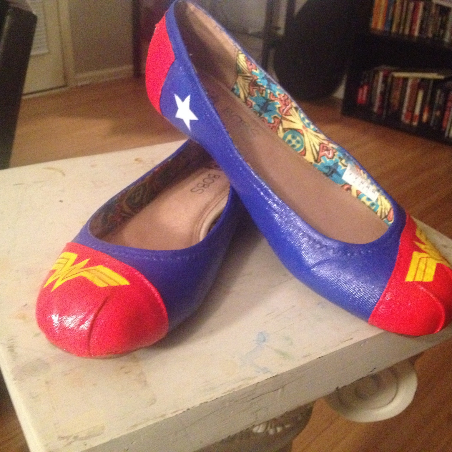 Wonder Woman Shoes for the Discerning Warrior Princess
