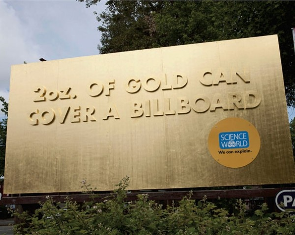 Gold Billboard