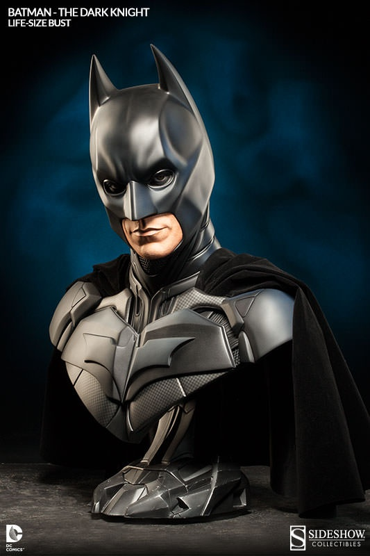 Batman Life-Size Bust by Sideshow Collectibles