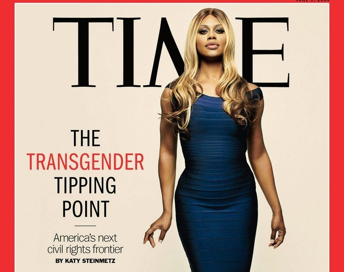 Laverne Cox Takes Over TIME Magazine