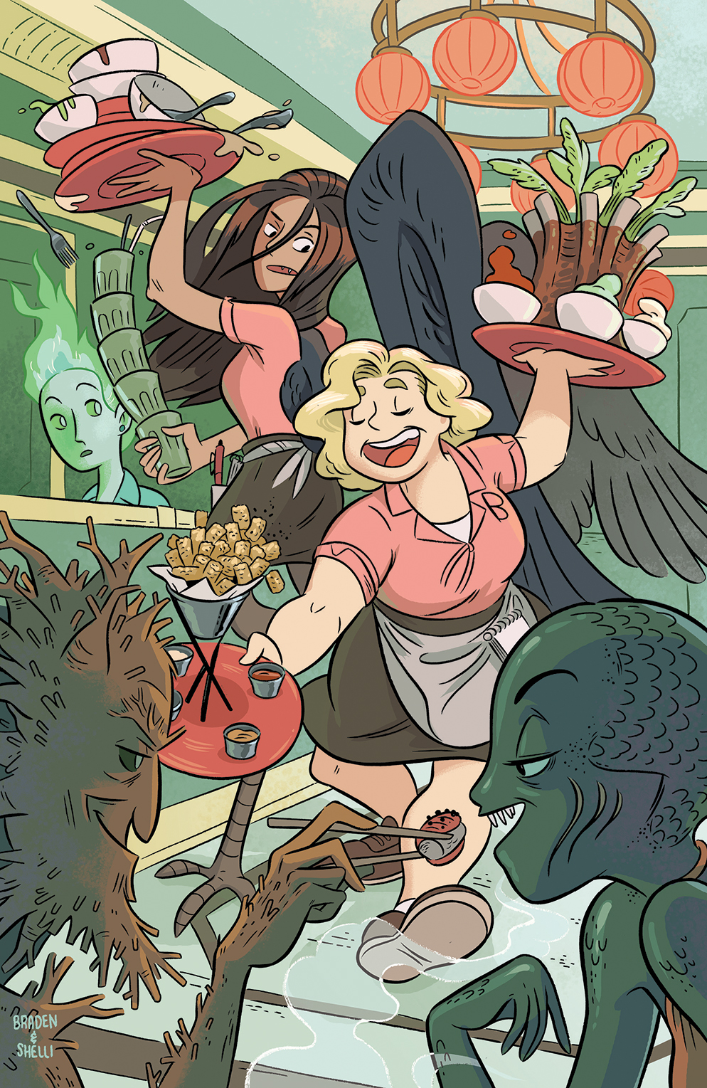 Brave Chef Brianna Variant Cover