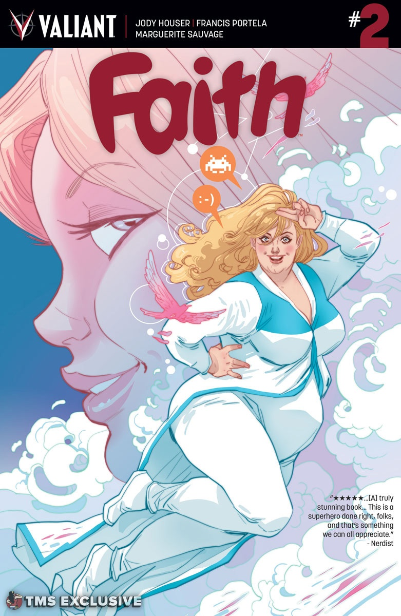 Faith #2 Cover B by MARGUERITE SAUVAGE