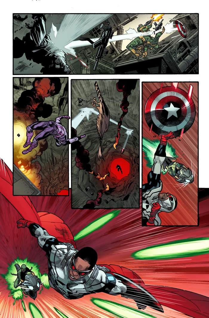 All-New Captain America #1 Preview
