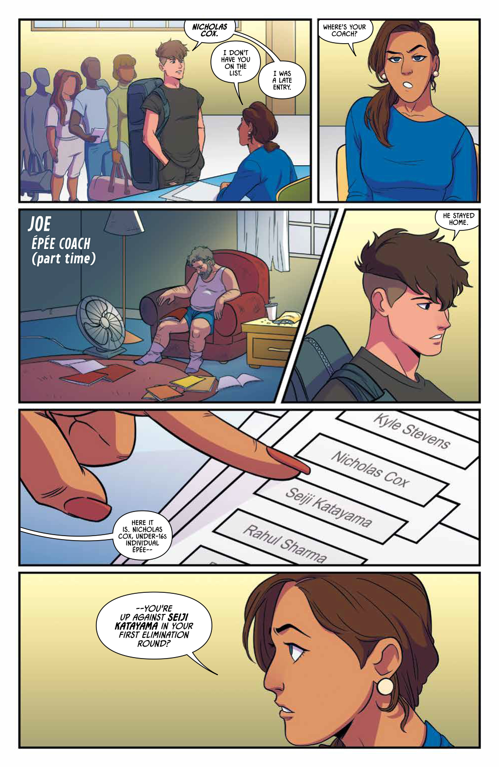 Fence #1 Preview - Pg 3