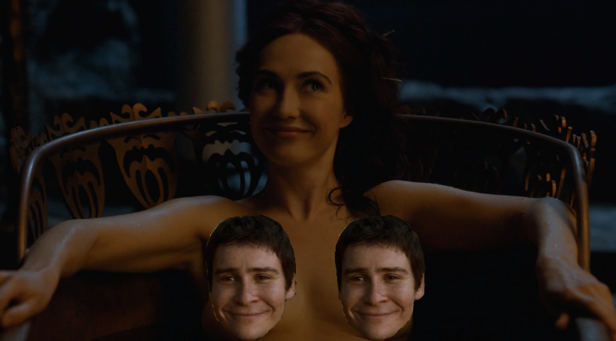 4x07, Melisandre's relaxation central