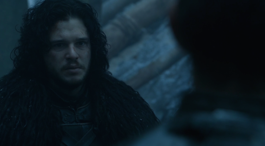 4x10, Jon acknowledging Stannis as the one true king of Westeros