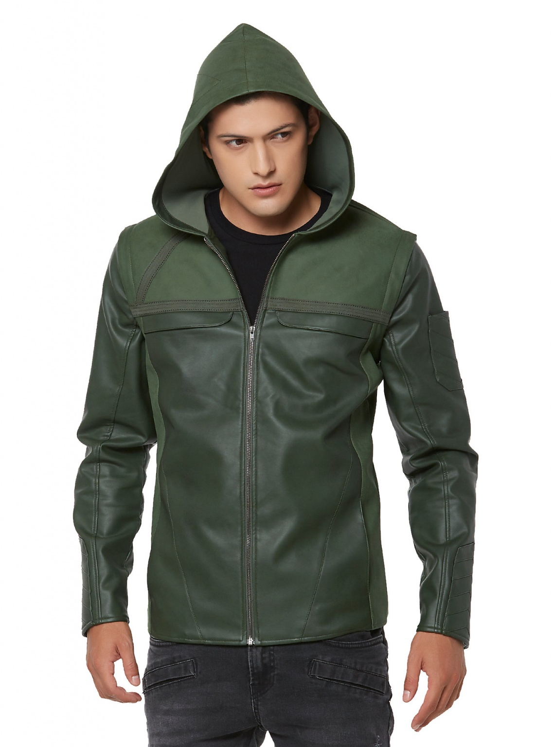 ARROW HOODED JACKET