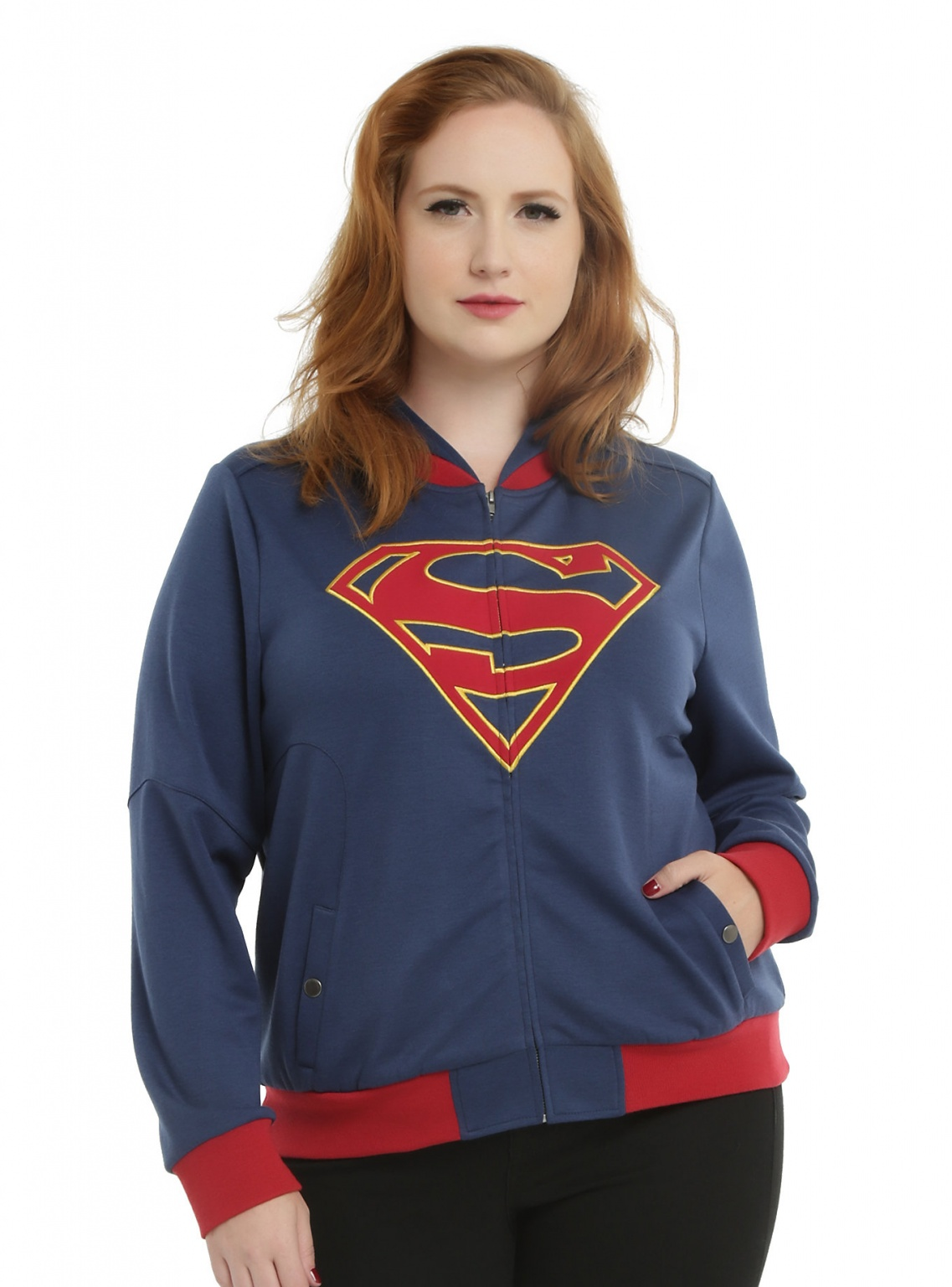 SUPERGIRL HOODED JACKET