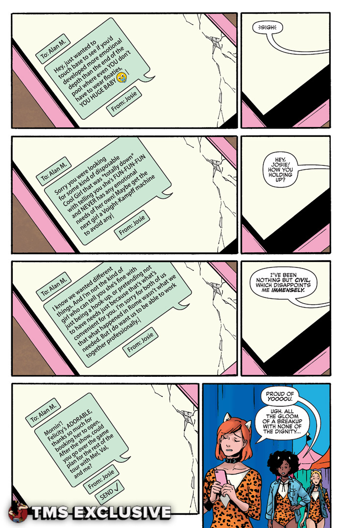Josie and the Pussycats #5 - Preview 1