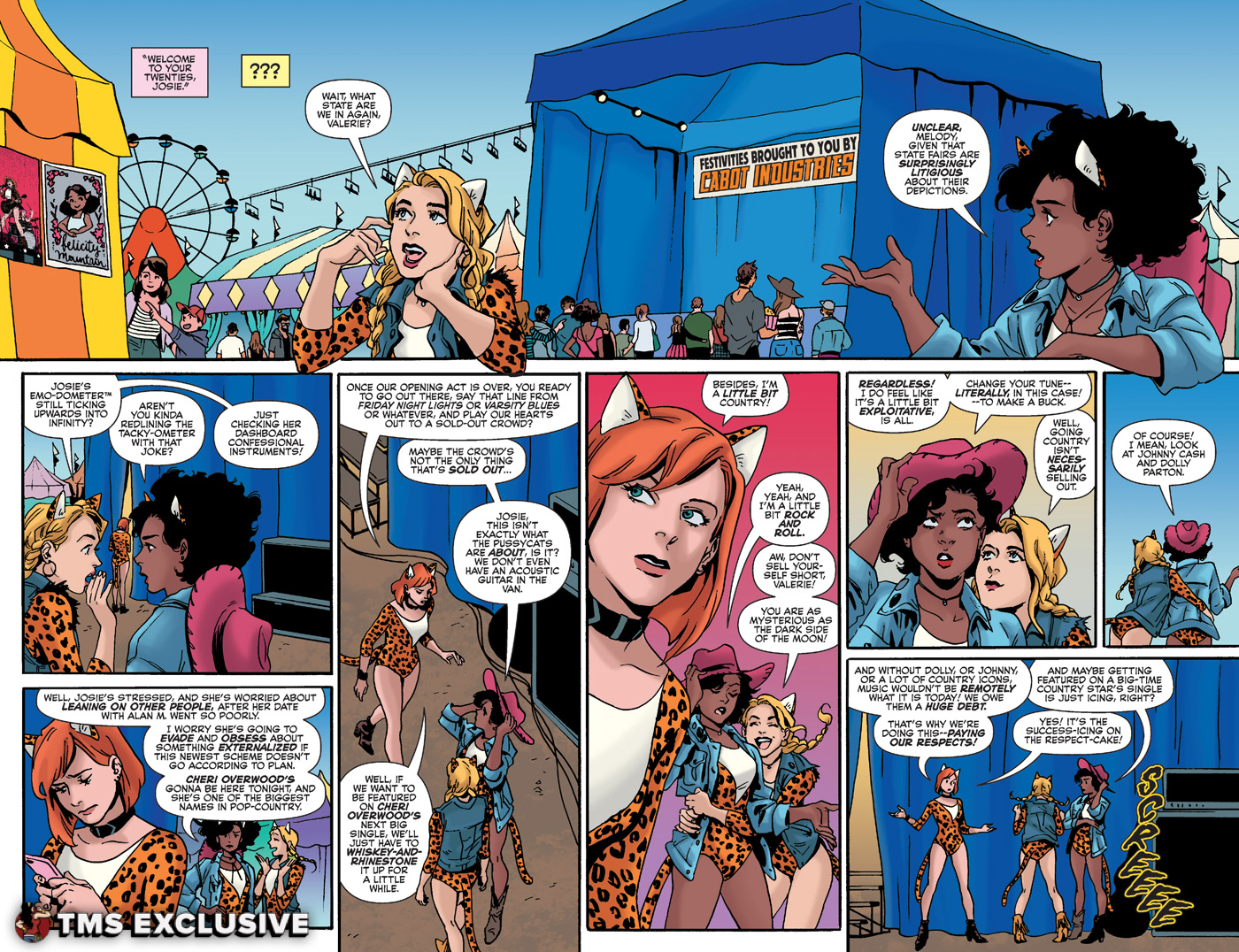 Josie and the Pussycats #5 - Preview 2