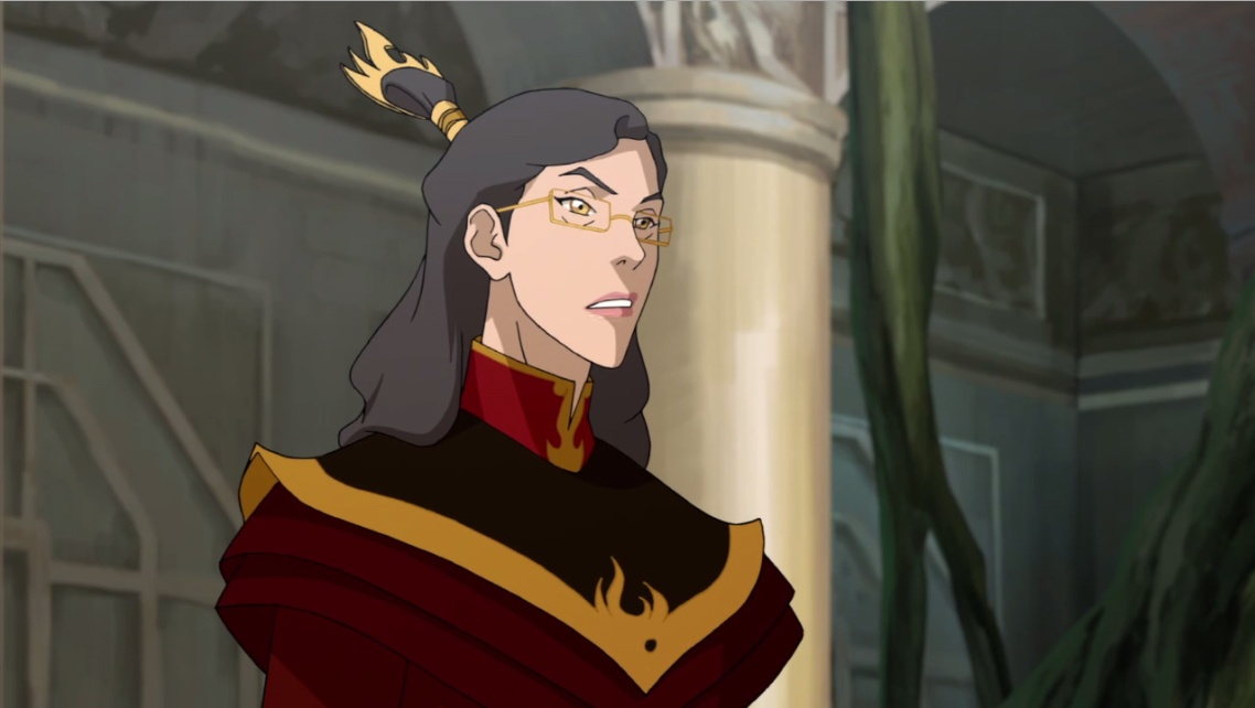 The Fire Nation's made a lot of progress
