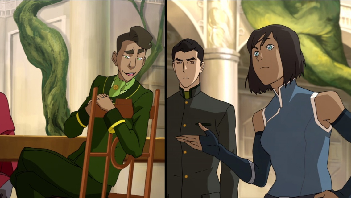 Wu was invited but not Korra