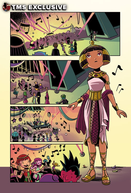 <em>Cleopatra in Space: The Thief and the Sword</em>