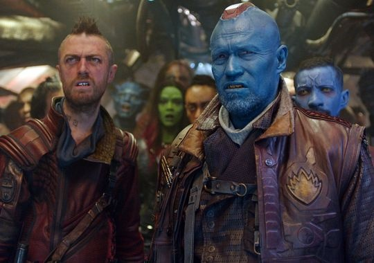 Yondu Does Not Like What He Sees