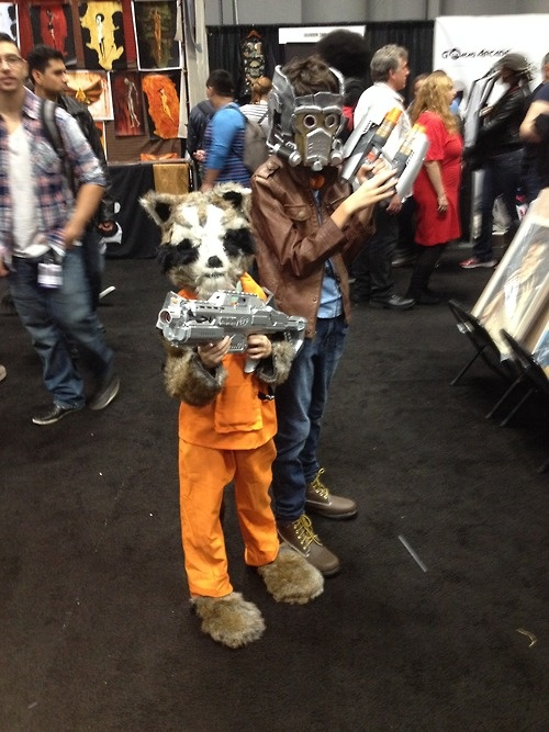 Rocket Raccoon and Star-Lord