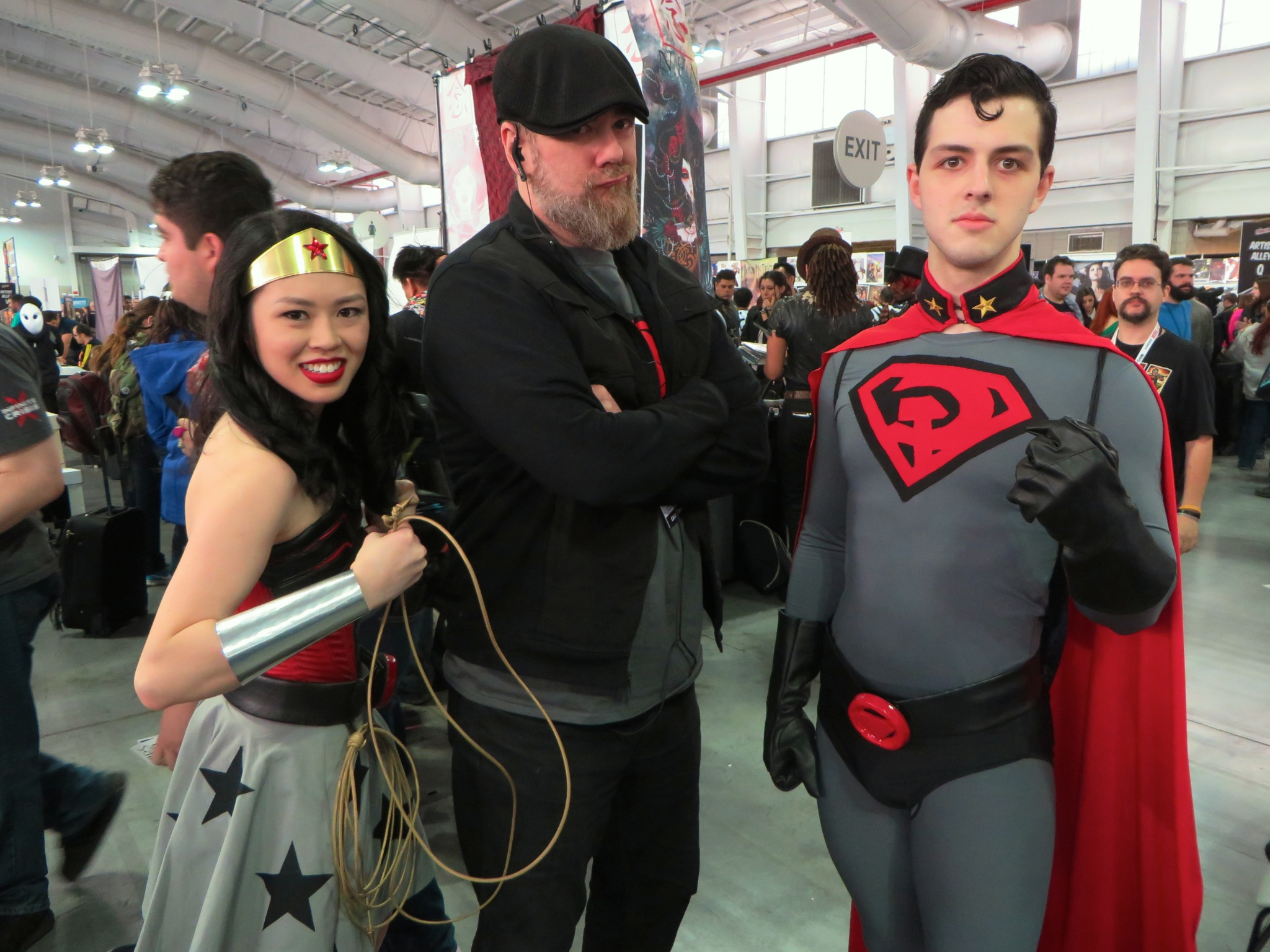 Wonder Woman and Red Son Superman (with Dave Johnson)