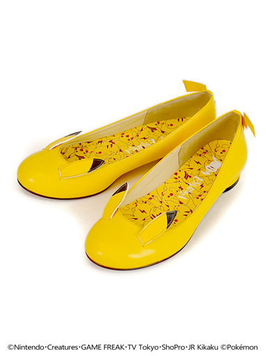 Pikachu low-heeled pumps