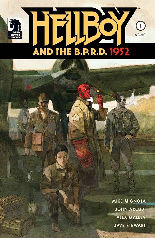 Hellboy and the B.P.R.D. #1 (of 5)