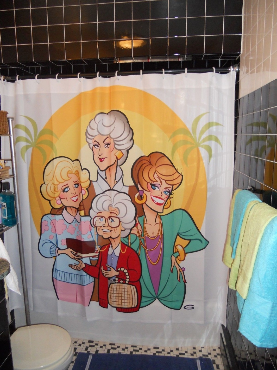 Pop Culture Shower Curtains by 99wooster