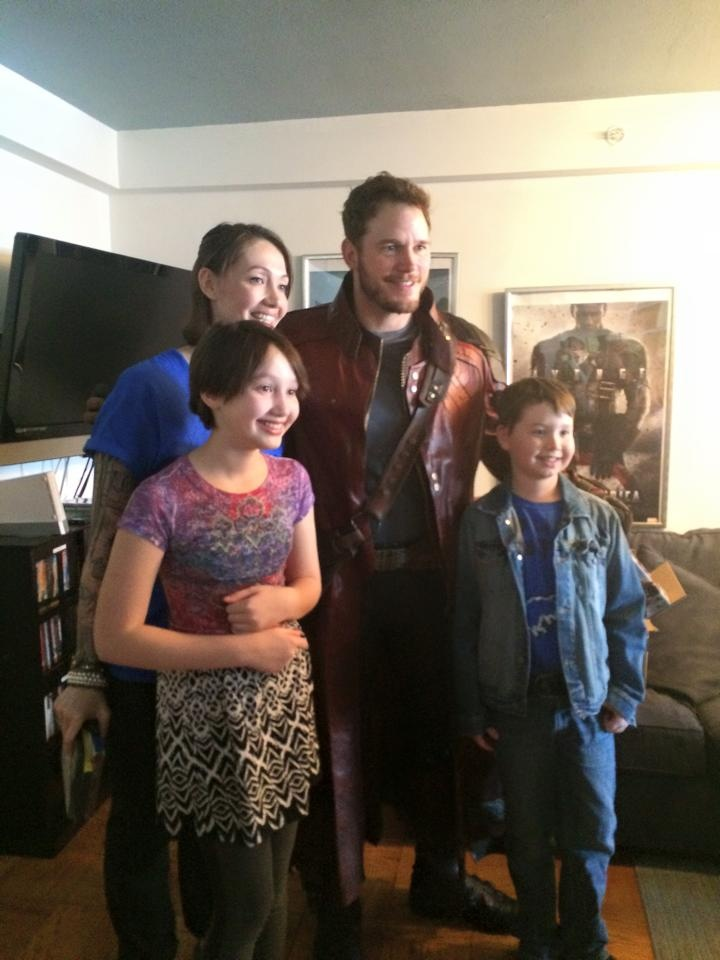 Star-Lord at Christopher's Haven