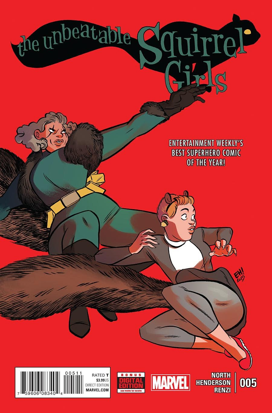 <em><strong>The Unbeatable Squirrel Girl</strong></em>#5<br>