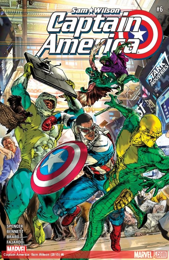 <em><b>Captain America: Sam Wilson #6</em></b><br>