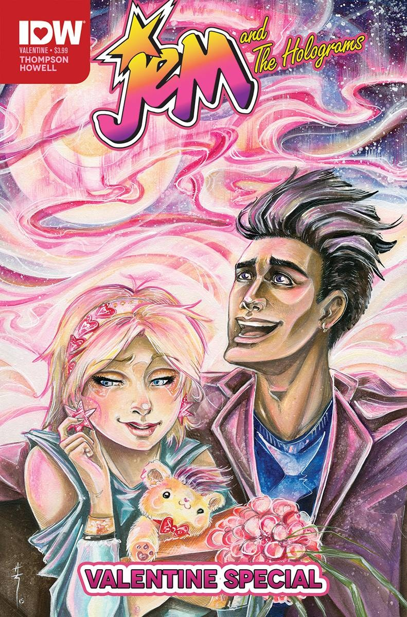 Jem and the Holograms Valentine's Day Special 2016 #1