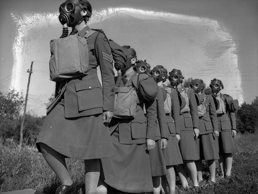 Canadian WACs in Basic Training