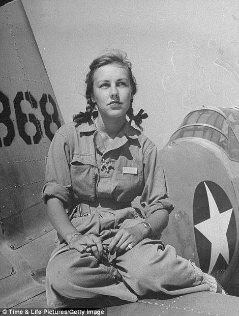Time Magazine Cover Girl Shirley Slade of the Air Force.