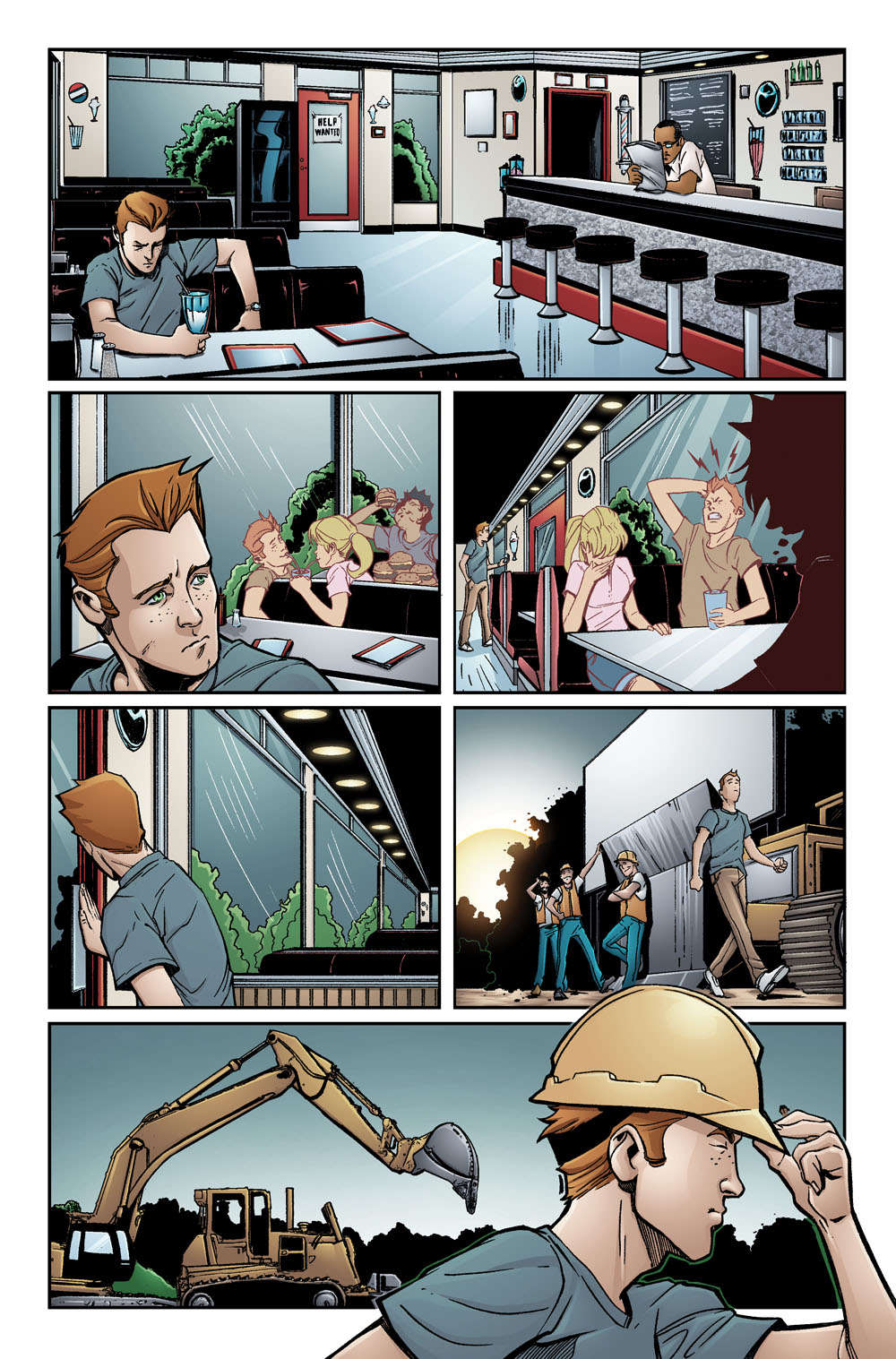 Riverdale One-Shot Preview 3 (Archie)