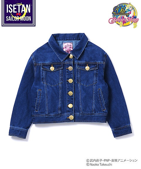 Denim jacket with Crystal Star buttons