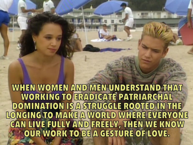 Saved By The bell hooks