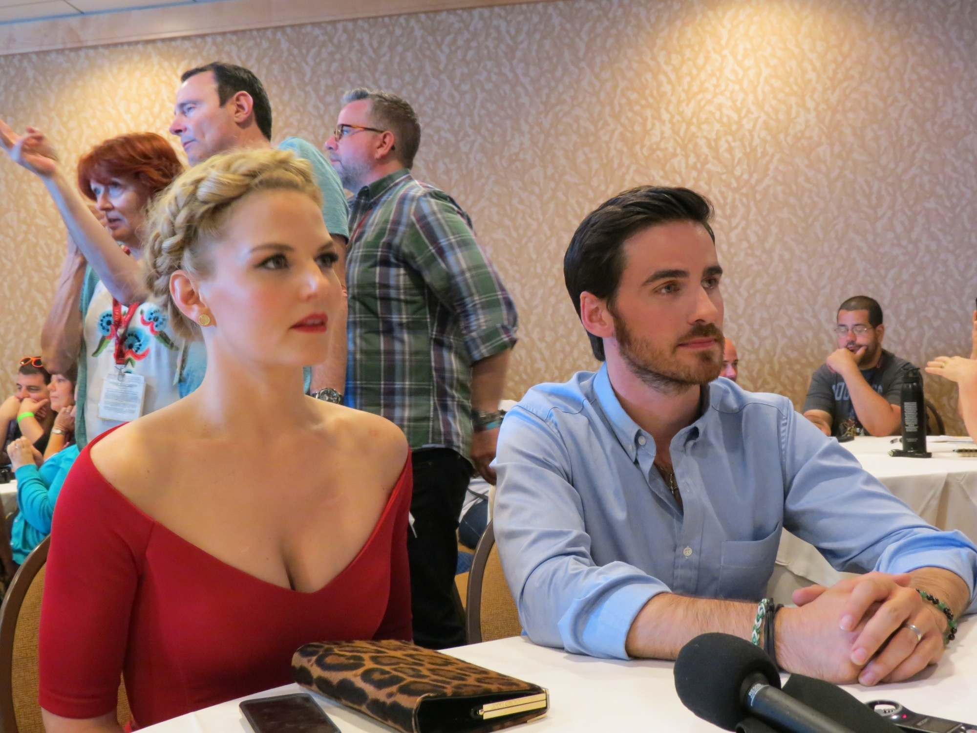 ABC's Once Upon a Time Interviews