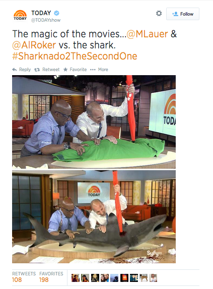 Respectable Journalists Matt Lauer and Al Roker lend some gravitas to the proceedings.