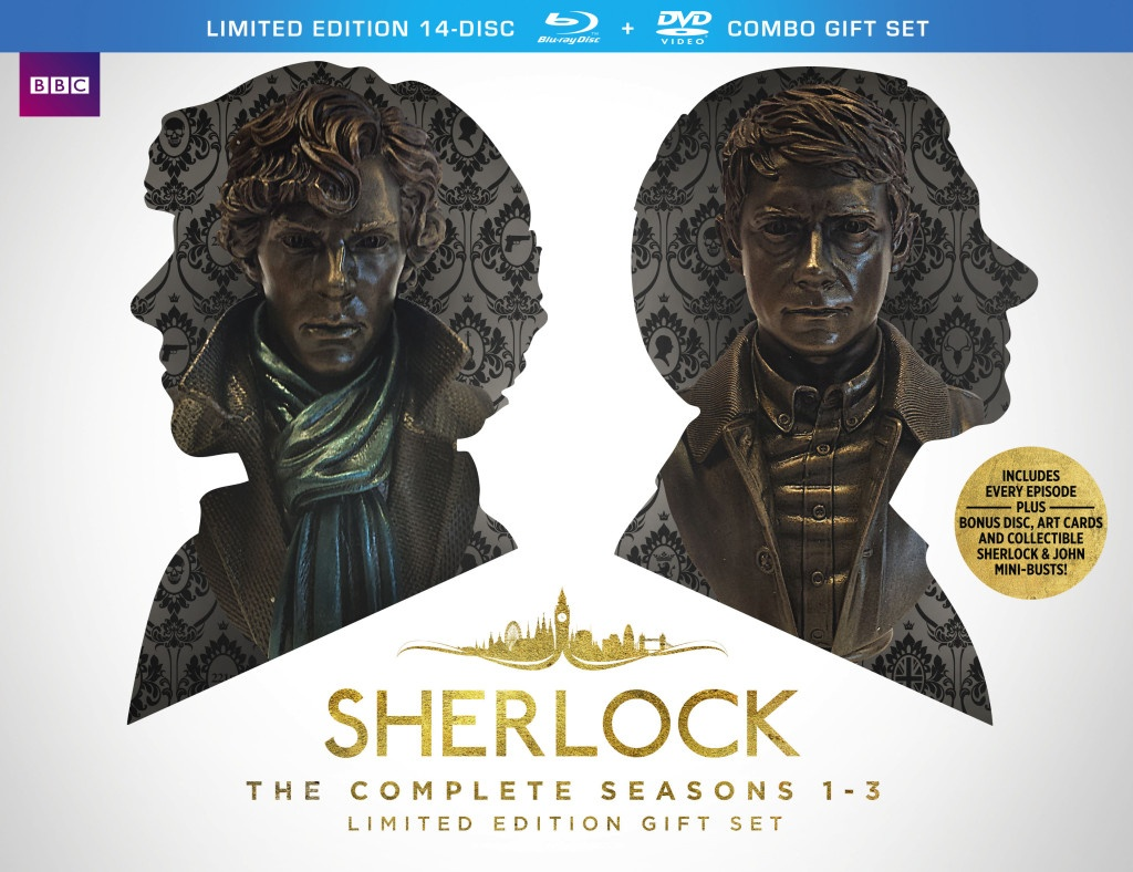Sherlock: The Complete Seasons 1-3 Limited Edition Gift Set