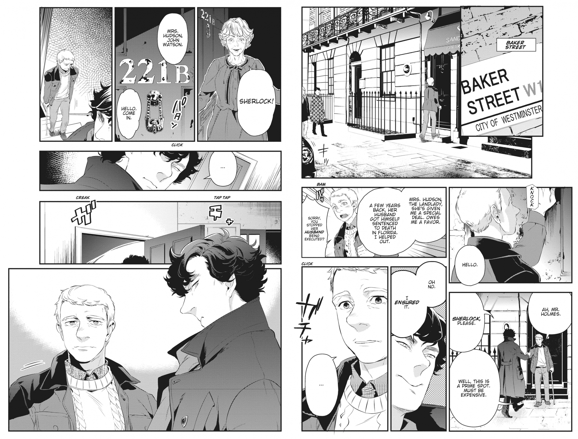 Sherlock preview pages